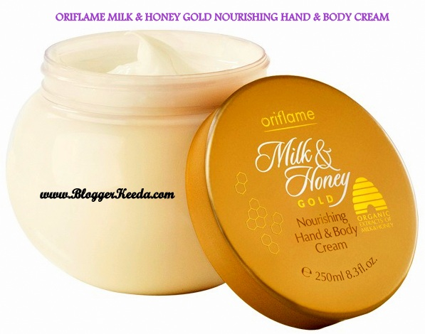 Oriflame Honey & Milk Gold Nourishing H&B Cream (1) - BloggerKeeda