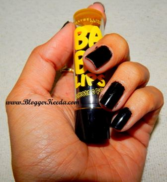 Maybelline Baby Lips Electro Pop review of Fierce N Tangy - 05