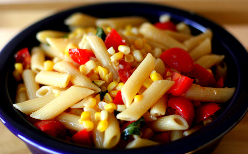 Easy to cook Summer Corn and Tomato Pasta 03