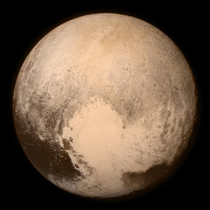 New Horizons Flyby Pluto 4