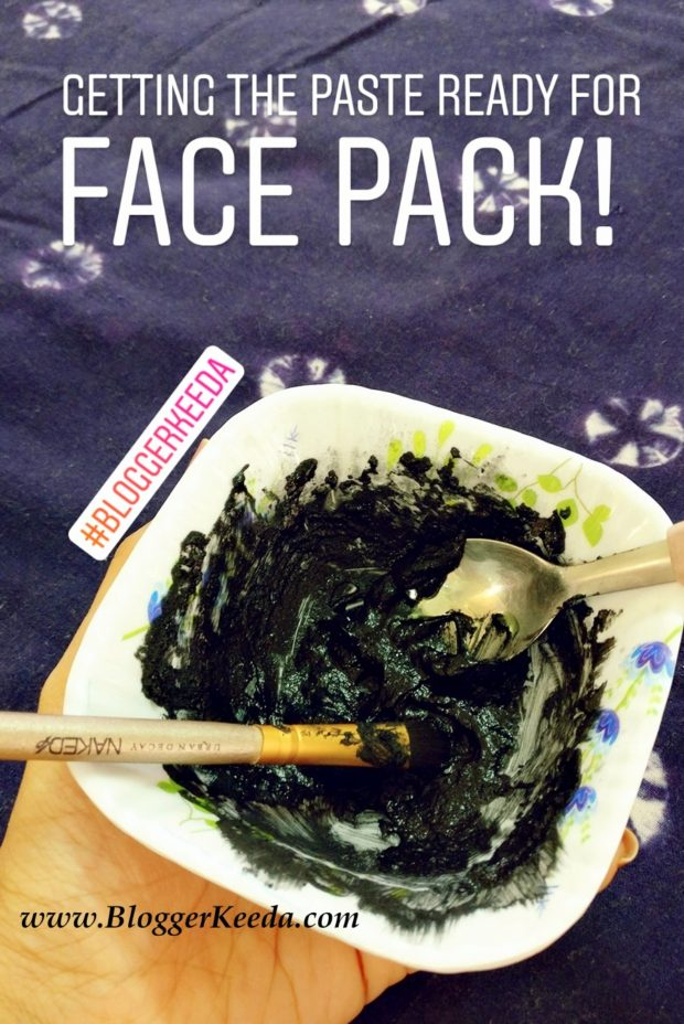 Activated Charcoal Face Pack 04